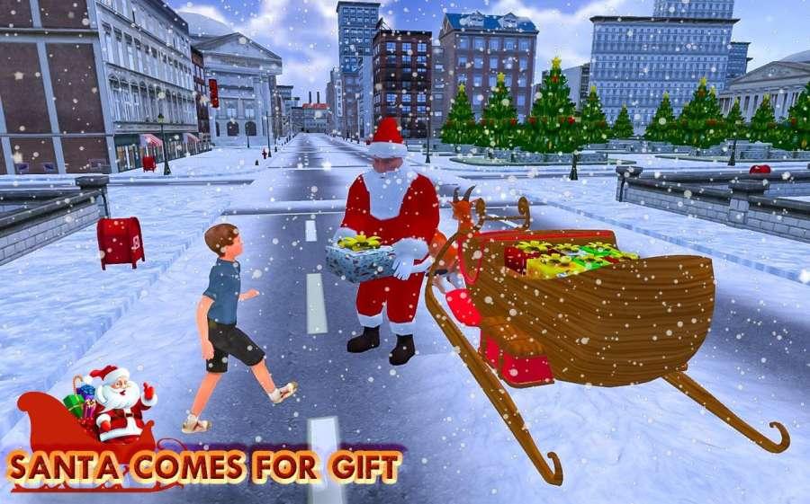 圣诞 礼品 冒险 - 圣诞老人 游戏截图2