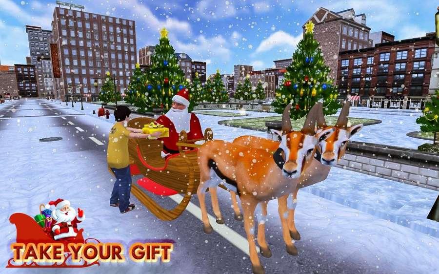 圣诞 礼品 冒险 - 圣诞老人 游戏截图3