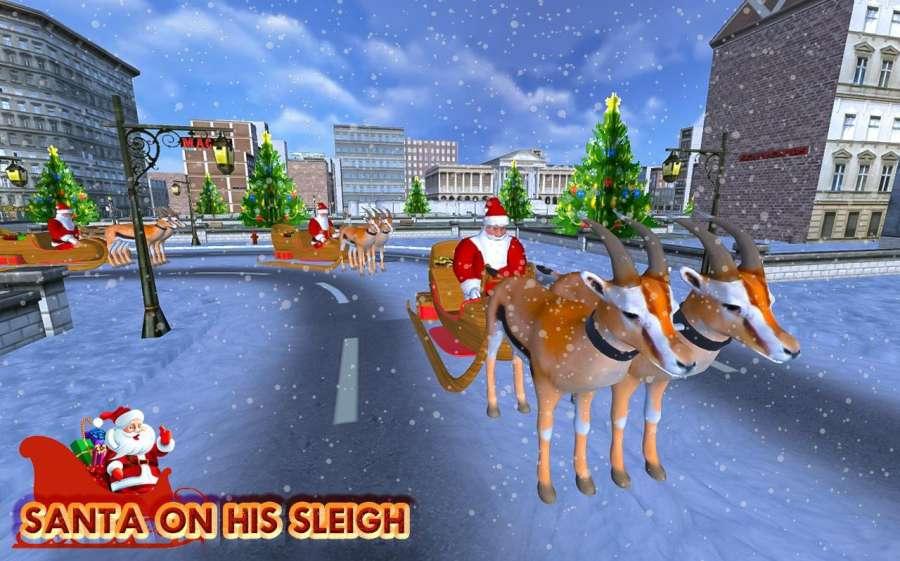圣诞 礼品 冒险 - 圣诞老人 游戏截图4
