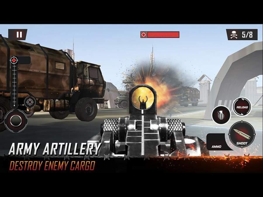 Army Counter Terrorist Critical Strike FPS截图0