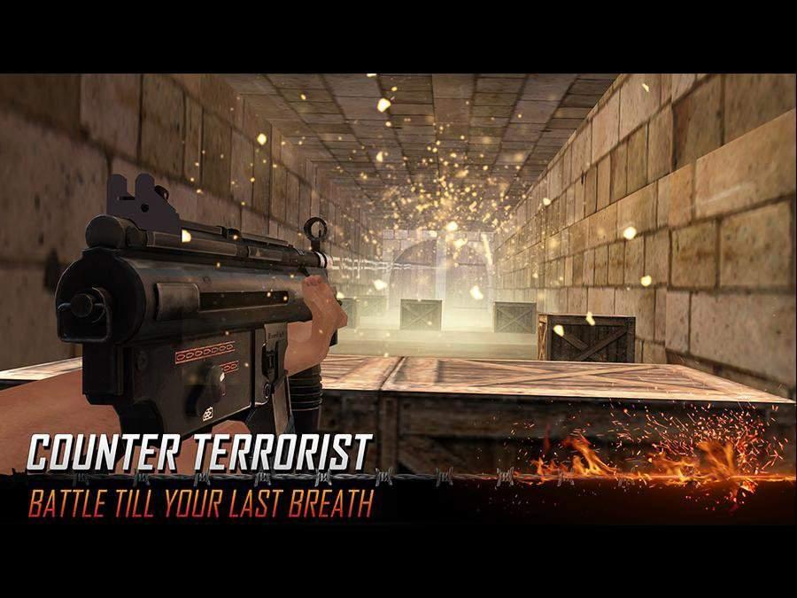 Army Counter Terrorist Critical Strike FPS截图3