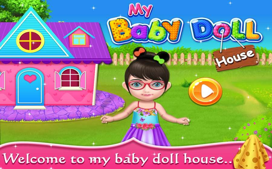 My Baby Doll House - Tea Party & Cleaning Game截图1