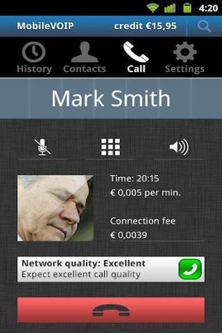 VoipBuster打电话漫游免费截图1