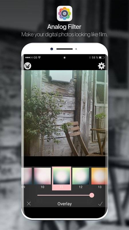 Analog Film Filter : Filter Film截图0