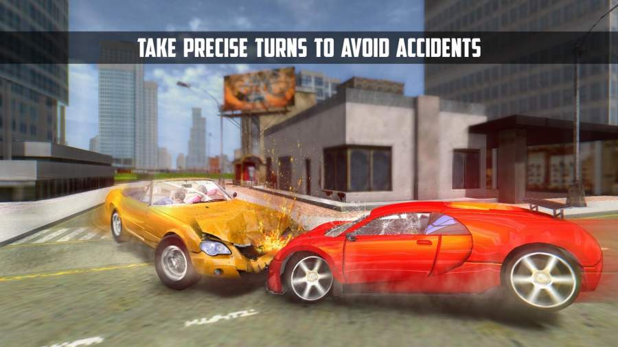 终极城市汽车驾驶模拟器截图0