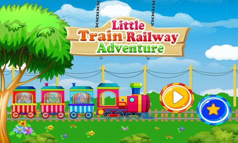 小火车铁路冒险:动物园动物之旅截图1