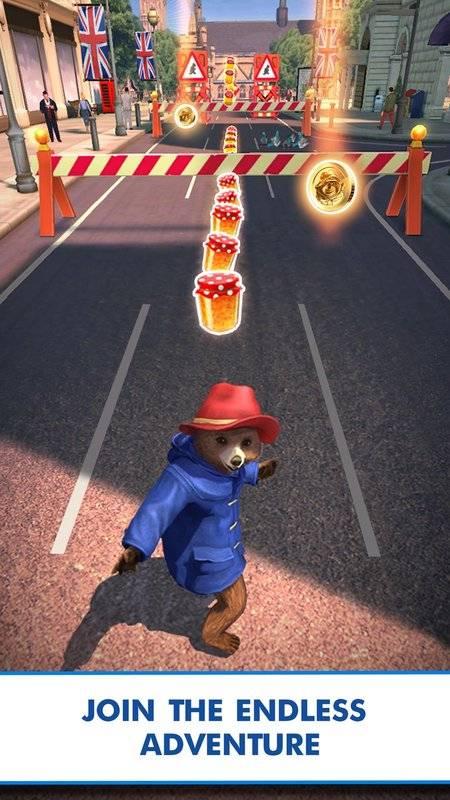 帕丁顿熊™快跑:无尽趣味冒险截图2