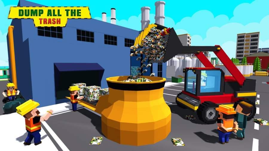 城市垃圾车驾驶模拟器