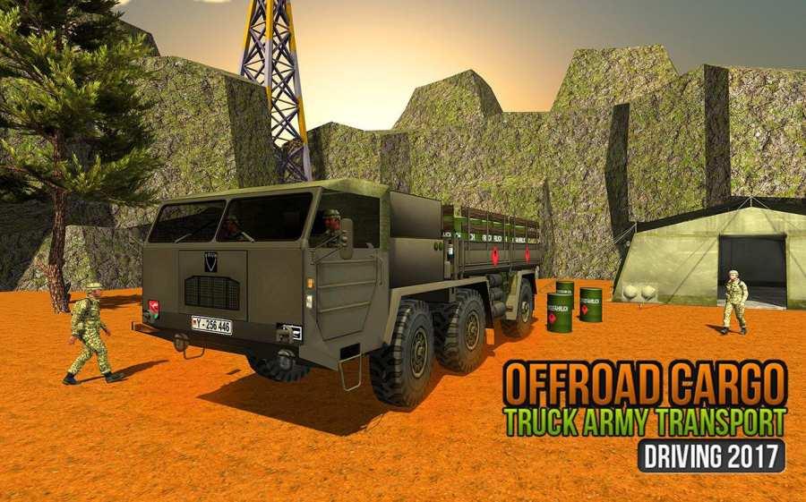 美国越野陆军货车驾驶运输游戏截图3