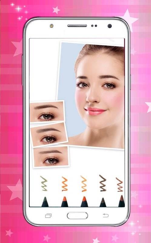 女孩 化妆 美女 框 :最好 化妆 美女