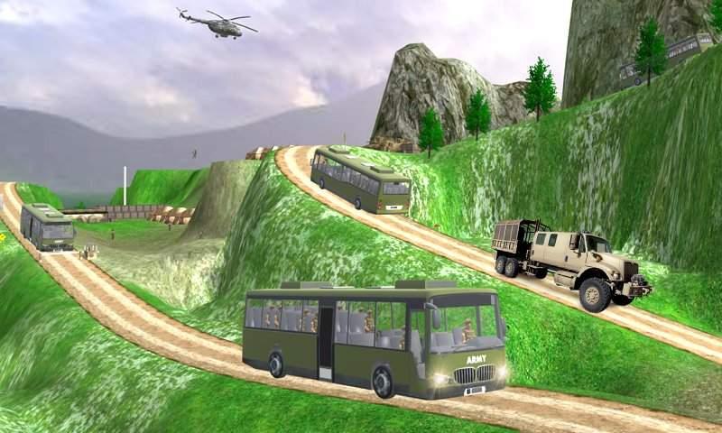 驱动器 军队 军事 卡车 免费截图1