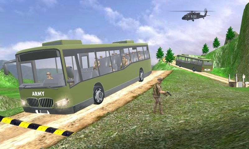 驱动器 军队 军事 卡车 免费截图3