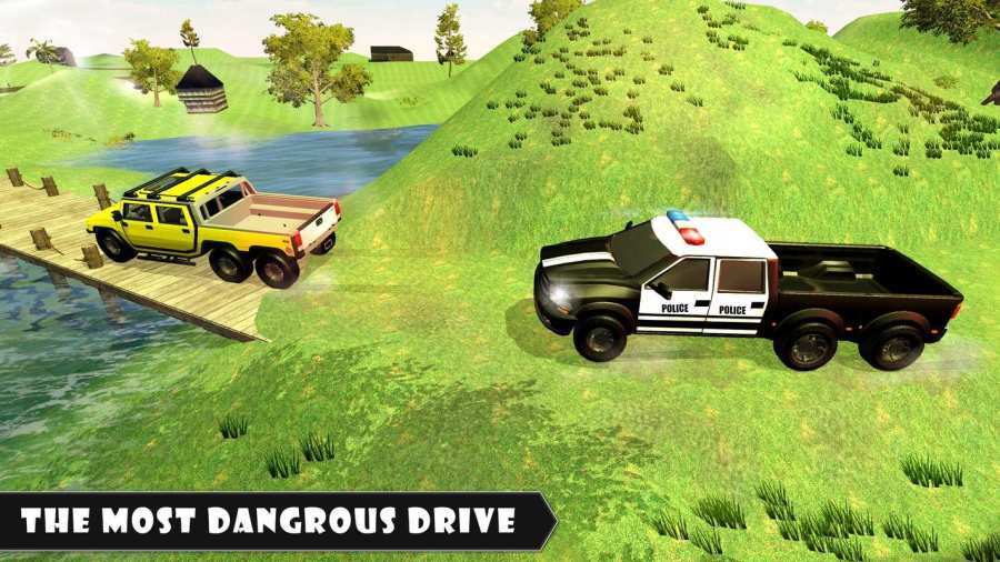6x6越野警车驾驶模拟器截图0