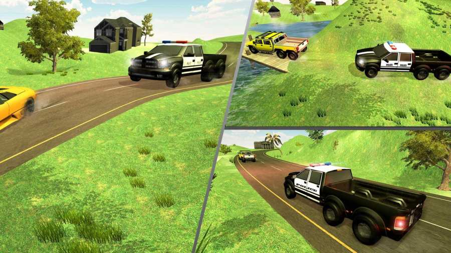 6x6越野警车驾驶模拟器截图3