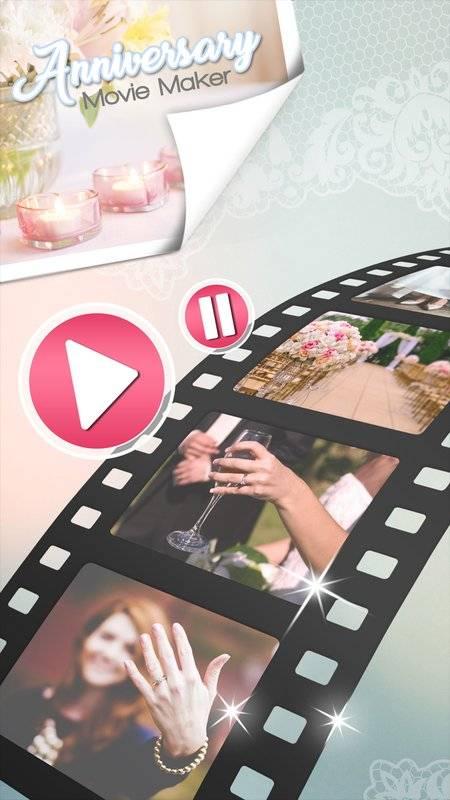 结婚 周年 视频 编辑截图0
