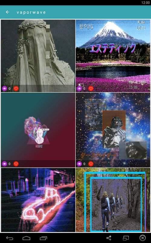 vaporwave wallpapers?GIF aesthetic backgrounds截图4