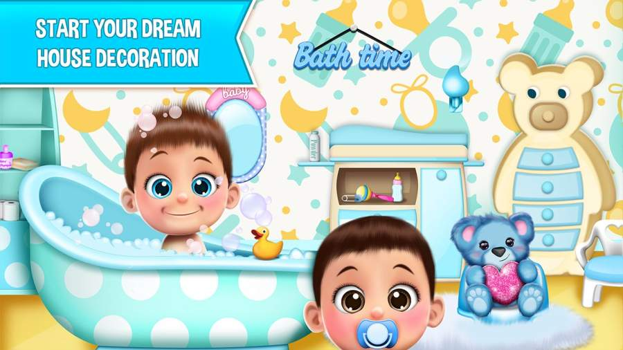 甜宝宝娃娃屋游戏截图0