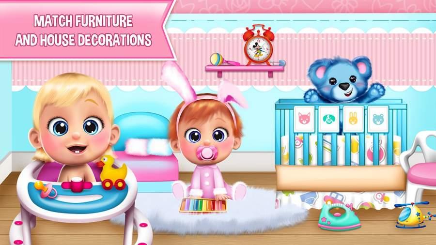 甜宝宝娃娃屋游戏截图1