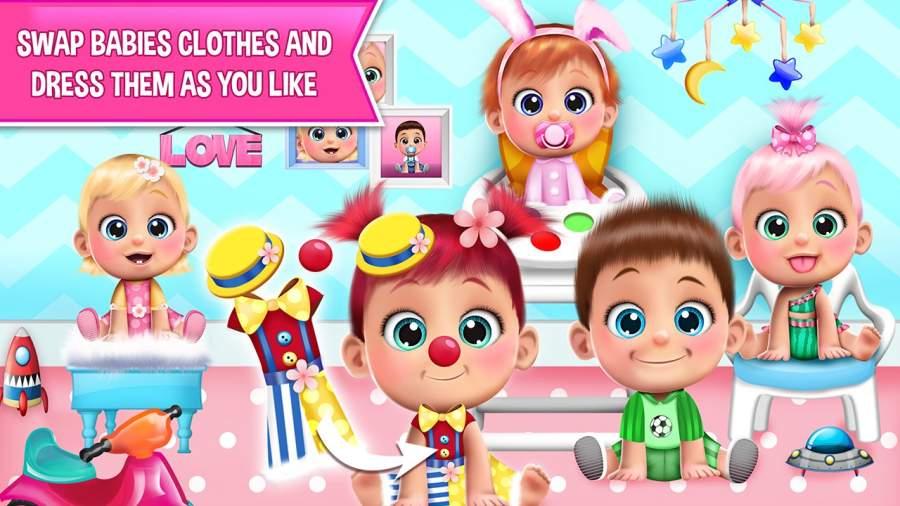 甜宝宝娃娃屋游戏截图3