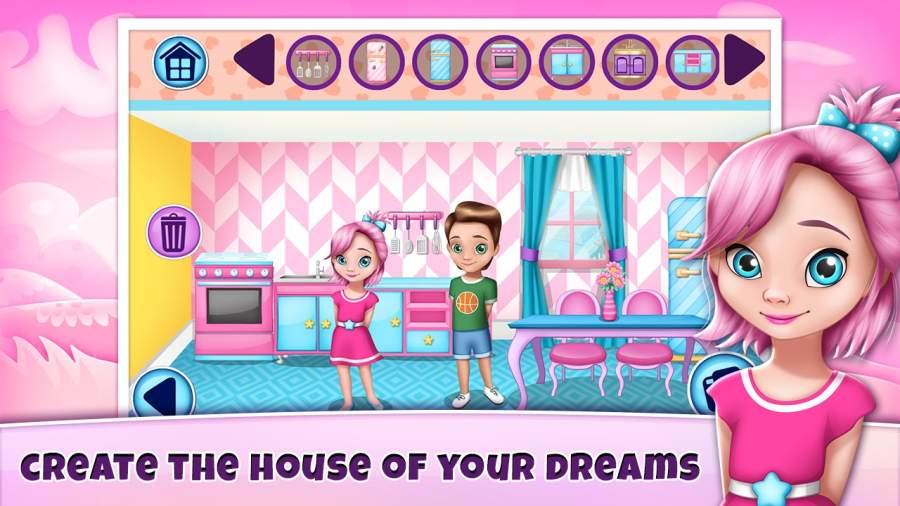 女生游戏裝修 – 娃娃屋