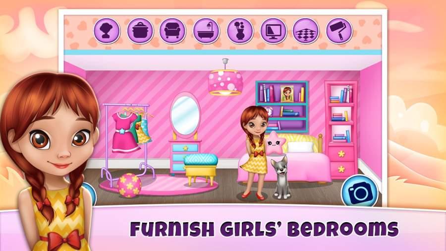女生游戏裝修 – 娃娃屋截图2