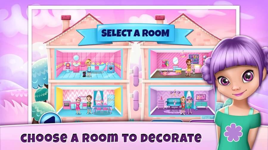 女生游戏裝修 – 娃娃屋截图5