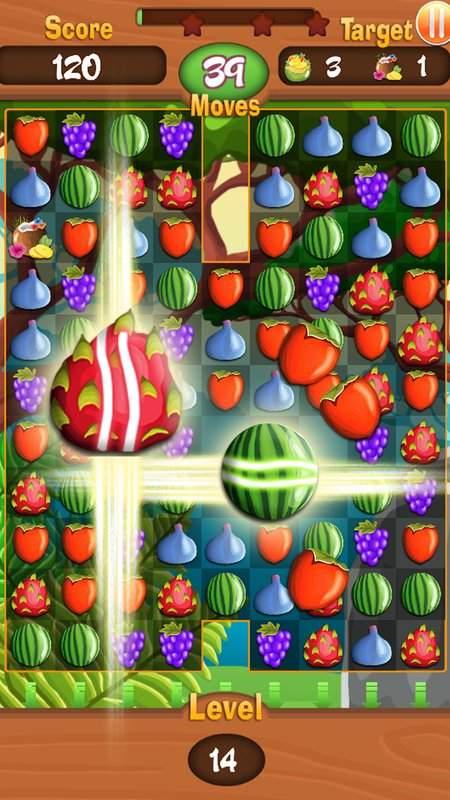 Fruit Rio Splash: Match 3截图0