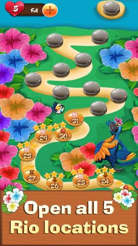 Fruit Rio Splash: Match 3截图2