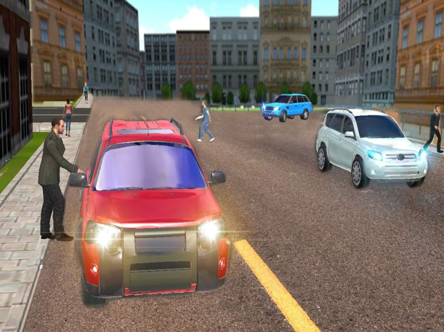 普拉多 汽车 冒险 -  一个 模拟器 游戏 的 市截图3