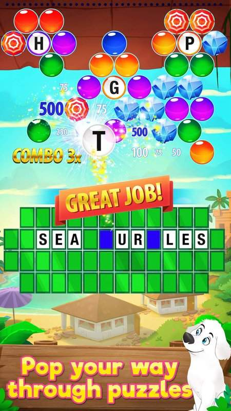 Wheel of Fortune PUZZLE POP截图2