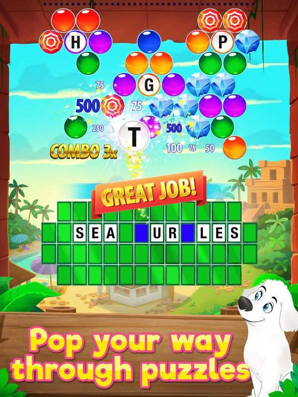 Wheel of Fortune PUZZLE POP截图3