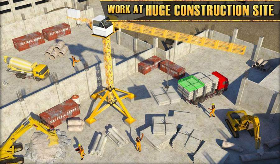 纽约市建筑模拟器:塔式起重机截图6