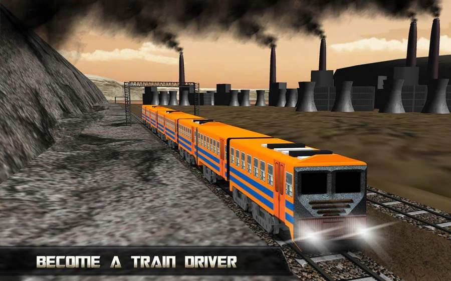 印度鐵路火車模擬器3D截图1