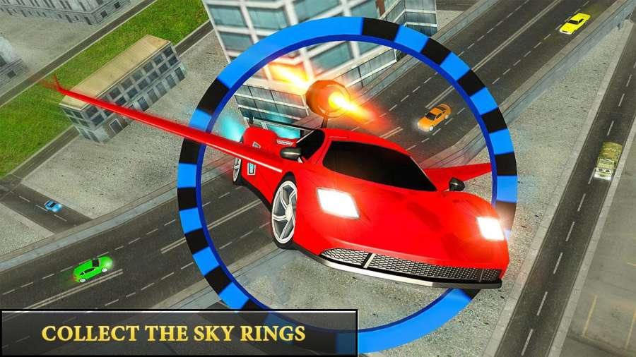 飞行 模拟器 飞行 汽车 司机