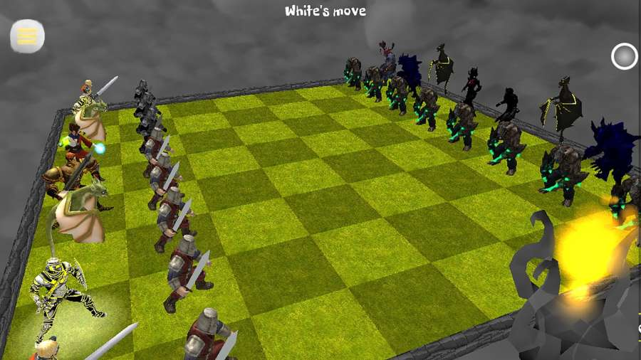 Chess 3D Free : Real Battle Chess 3D Online截图0