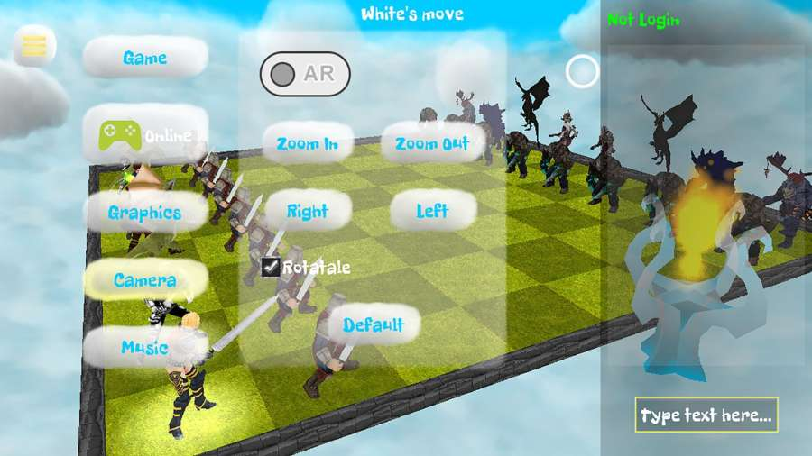 Chess 3D Free : Real Battle Chess 3D Online截图1