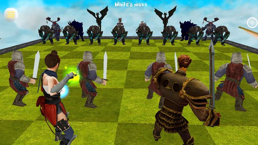 Chess 3D Free : Real Battle Chess 3D Online截图3