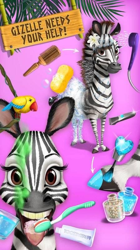 丛林动物美发沙龙2  - 热带宠物美容大改造截图10