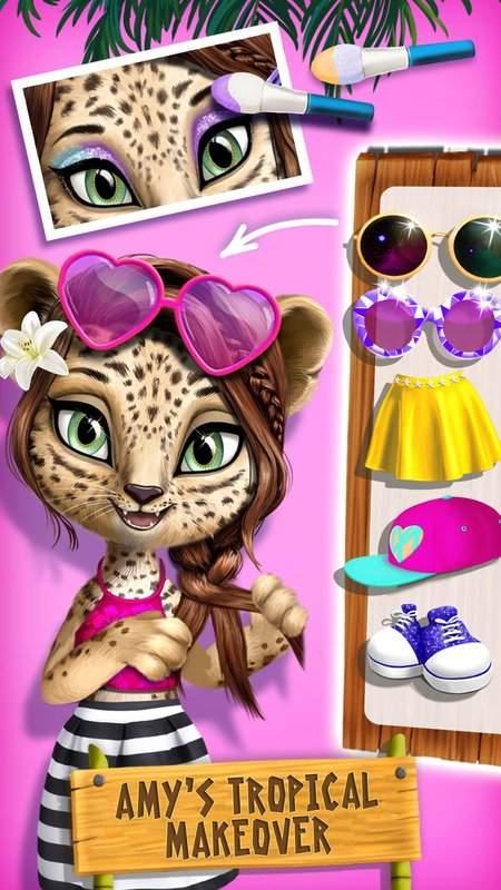 丛林动物美发沙龙2  - 热带宠物美容大改造截图5