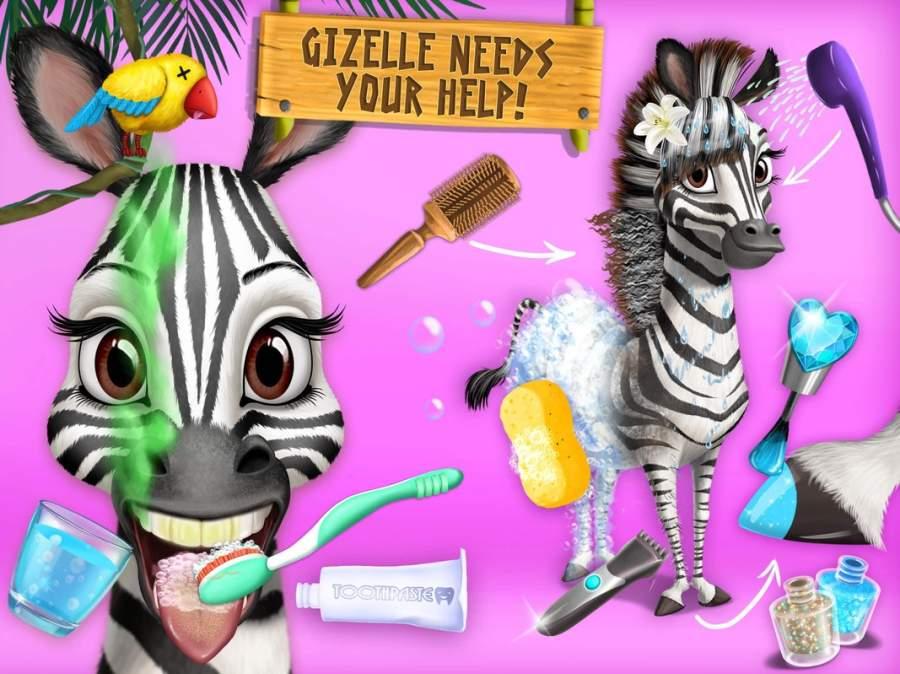 丛林动物美发沙龙2  - 热带宠物美容大改造截图7