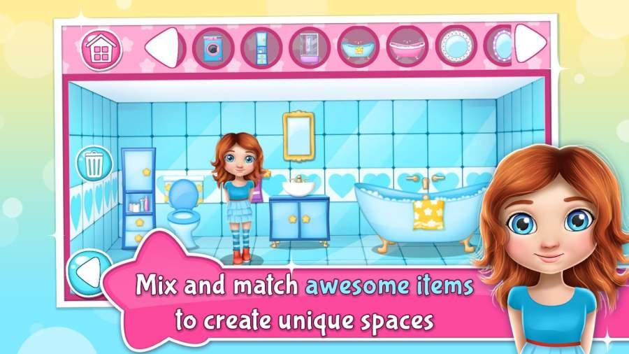 娃娃屋 – 游戏裝修截图1