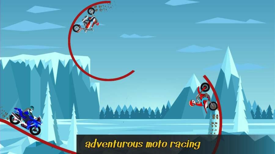 极限自行车特技游戏 - 顶级摩托截图1