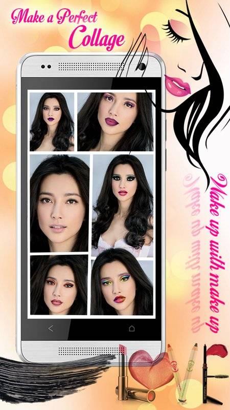 化妆 美容院 照片特效 虚拟 图片编辑器截图0