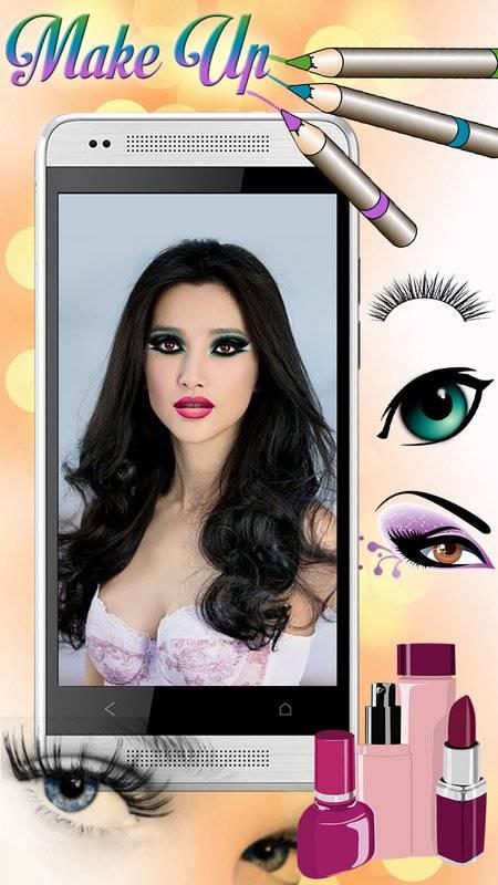 化妆 美容院 照片特效 虚拟 图片编辑器截图1