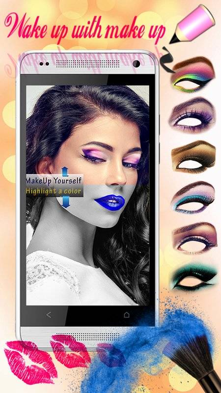 化妆 美容院 照片特效 虚拟 图片编辑器截图2