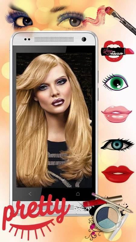 化妆 美容院 照片特效 虚拟 图片编辑器截图5