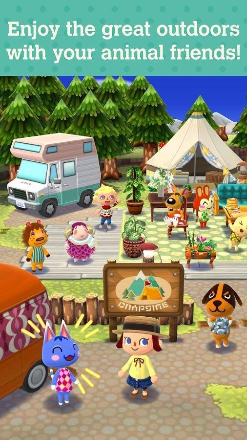 动物之森:口袋露营截图0