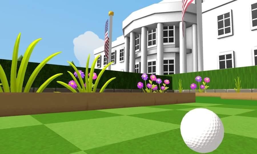 总统迷你高尔夫军团