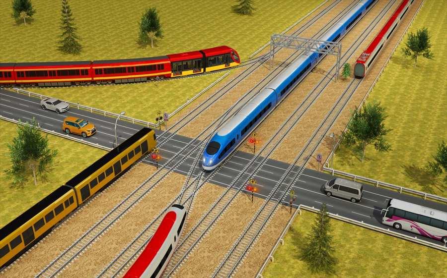 印度火车城市驾驶sim火车比赛2018年截图4