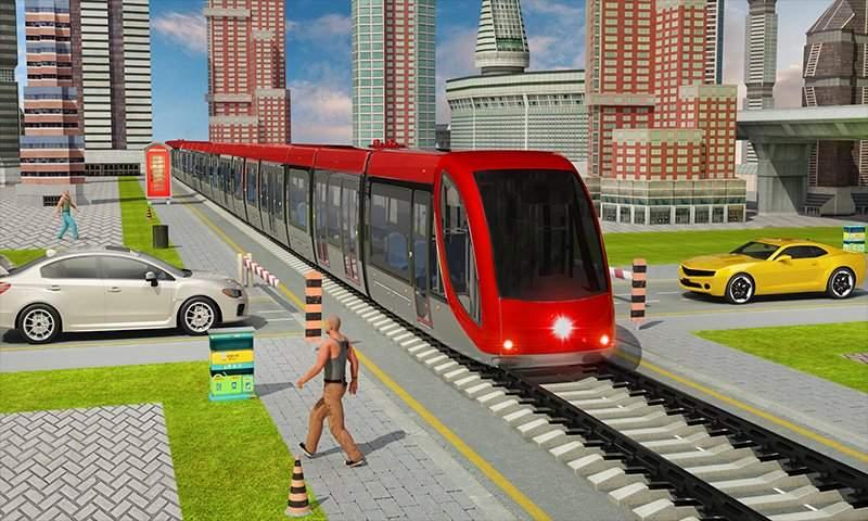 印度火车城市驾驶sim火车比赛2018年截图6